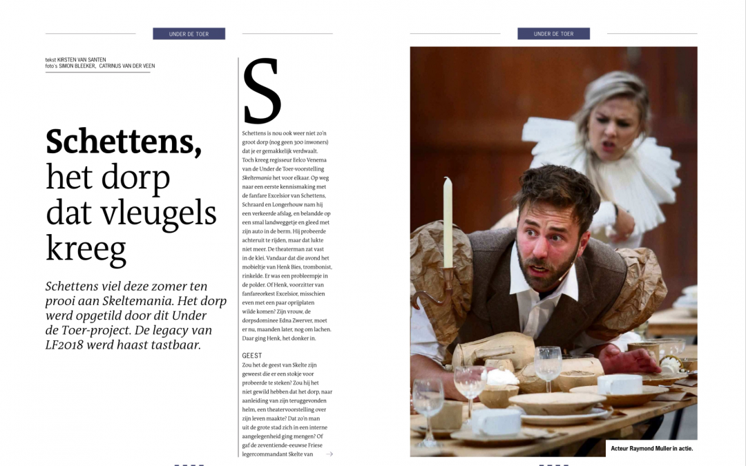 Skeltemania in eindejaar bijlage van de Leeuwarder Courant