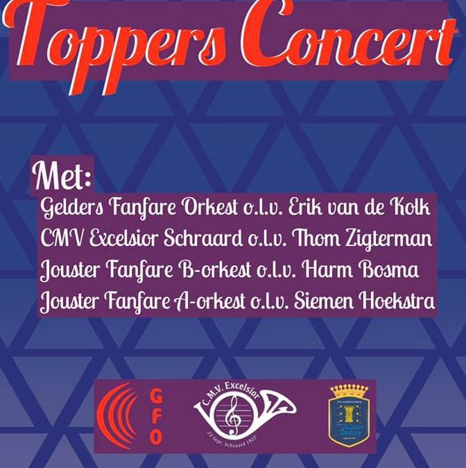 Excelsior doet mee met Topperconcert in Joure
