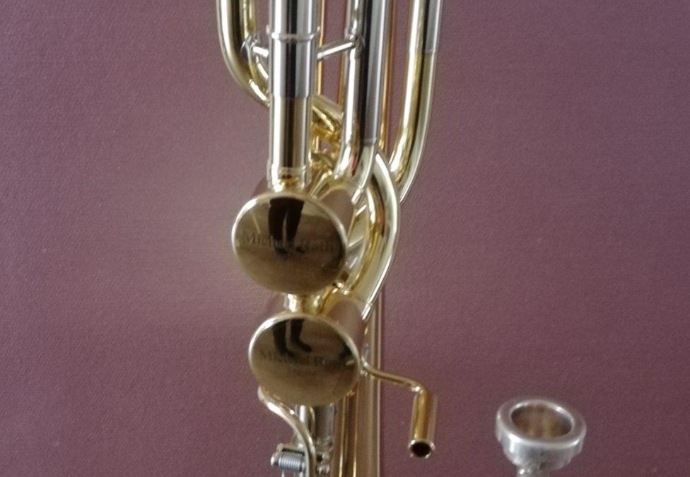 Een nieuwe bas trombone!